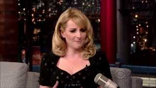 Melissa Rauch On Letterman March 13, 2014