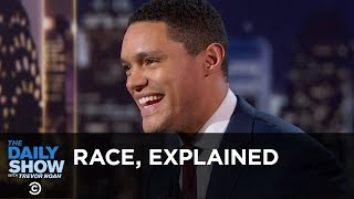 Trevor's 10-Year-Old Brother Explains Race - Between the Scenes | The Daily Show