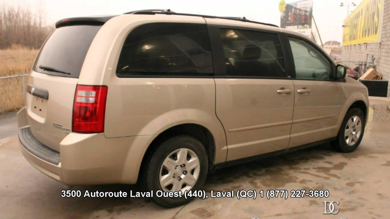 2009 Dodge Grand Caravan 111640a Gold Youtube