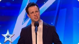 From supermarket to the stage: Meet singing SENSATION Ronan Busfield!   Auditions   BGT 2018