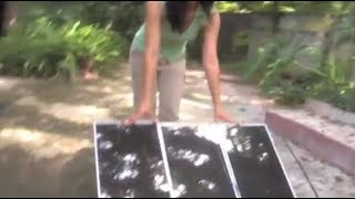 Video DIY SOLAR PANEL ELECTRIC WIRING SOLAR POWER DIY MODIFIED