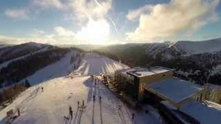 Late afternoon @St. Oswald/Bad Kleinkirchheim by g-flights.at - 2013-12-28