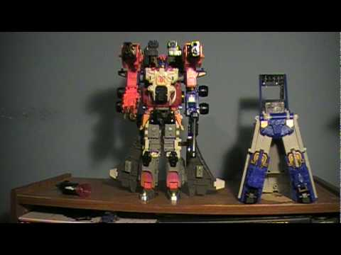 How to Combine Armada Optimus Prime, Jetfire and Overload