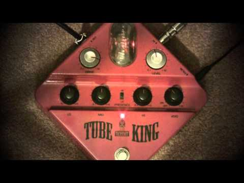 Ibanez Tube King Distortion Pedal Demo With PRS Custom 24