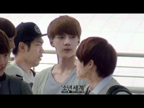 [HD Fancam] 120609 EXO-K at Incheon Airport (Sehun focus)