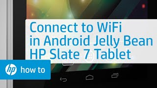 Connecting To A Wireless Network With Android 4.1 Jelly