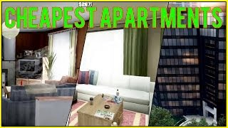 GTA 5 Online: Cheapest Apartments (low-end Vs Middle-end