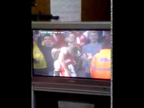 Olivier Giroud Score's For Arsenal FC vs Everton FC F.A. Cup;