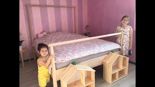 Phòng của 2 chị em / Bedroom for girls/ Hai chị em nói giọng Huế