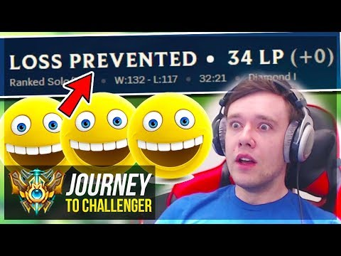 WAIT.. WHY DIDN'T I LOSE LP??????? TY RITO!!!! - Journey To Challenger | League of Legends