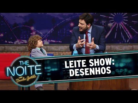 The Noite (20/11/14) - Leite Show: Desenhos