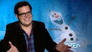 The 'Voice Of Olaf' Josh Gad Talks Frozen And Upcoming