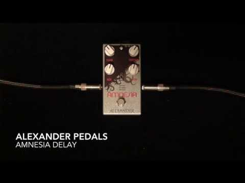 Alexander Pedals Amnesia Delay
