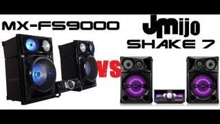 Samsung FS9000 VS Sony SHAKE 7