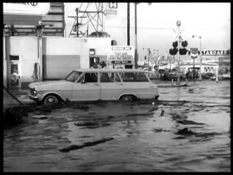 Baldwin Hills Dam Breaks Los Angeles December 14, 1963