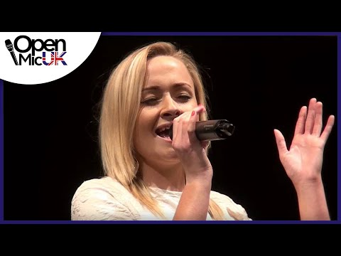 ELLA EYRE - LOVE ME LIKE YOU DO performed by FAYE WESTON at hayes Open Mic UK Music Competition
