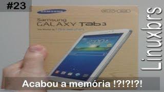 Samsung Galaxy Tab 3 T2100 SM T210 Acabou A Memória