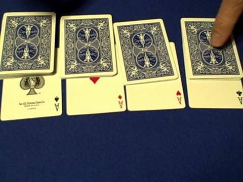 4 aces card trick story