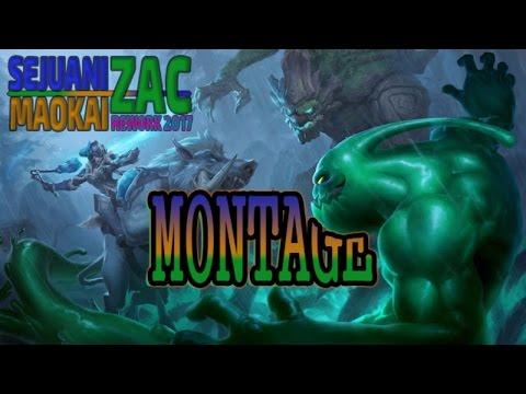 Maokai, Zac & Sejuani REWORK Montage | Mid Season Tank Update 2017 | League of Legends