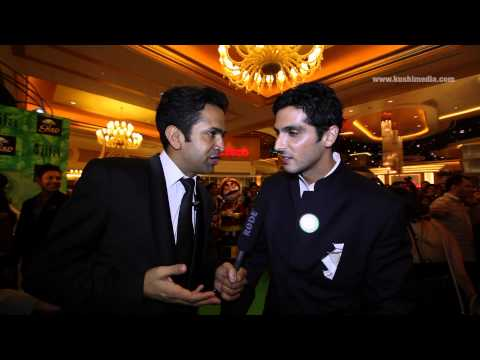 Zayed Khan - Exclusive Interview with Kushi Media at the IIFA Rocks 2013
