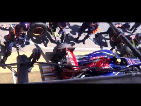 Accidentes en el pit lane / Crashes