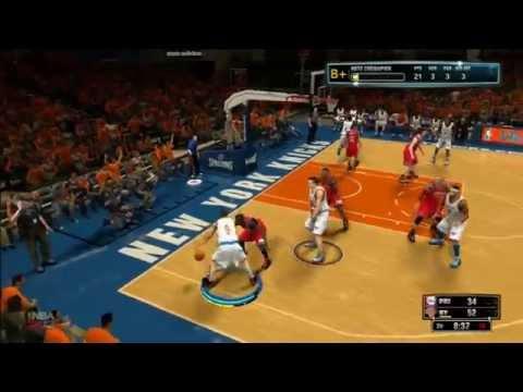Collector - NBA 2K13 - Mon joueur - Knicks vs 76ers