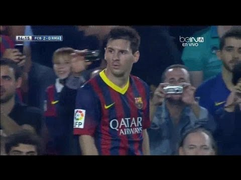 Lionel Messi vs Real Madrid (26/10/2013) -INDIVIDUAL HIGHLIGHTS-