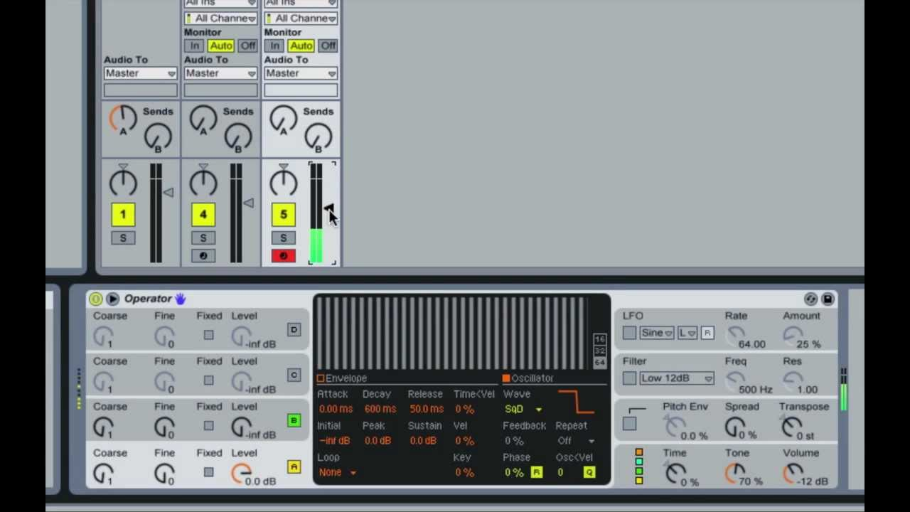 how to make a track in ableton