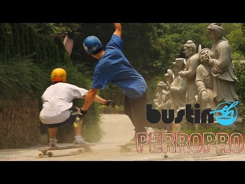 Longboard China with Bustin Boards
