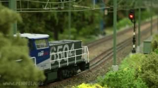 Modellbahn Hobby Spur H0 Stichting M-TRAK Baan