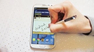 Samsung Galaxy Note 2 Review Inc Camera, S-pen, Settings