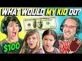 CAN PARENTS GUESS WHAT THEIR KID DOES WITH 100 DOLLARS Ep 2