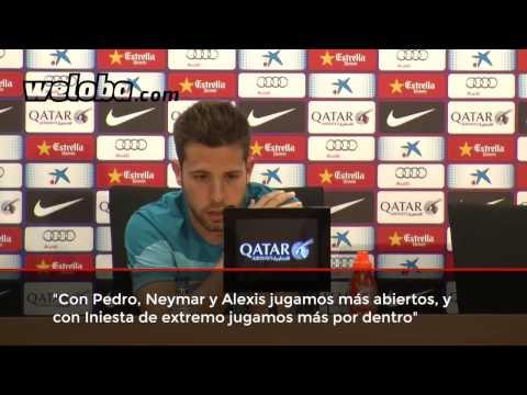 Rueda de prensa de Jordi Alba (19/03/14) | www.weloba.cat