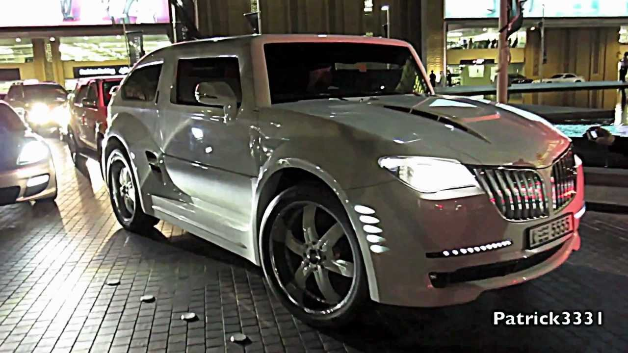 BMW X6 - Gulf Lotus X12 Hummer - YouTube