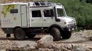 UNIMOG Camping Car Motor Home Raid 4x4 Maroc