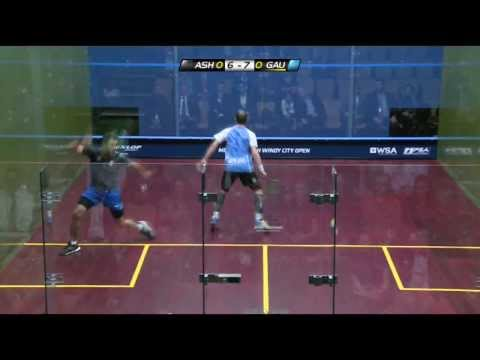 Squash : Metrosquash Windy City Open 2014 - PSA Final Roundup Ashour v Gaultier