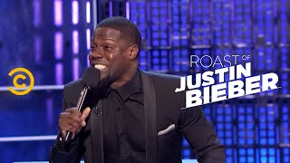 Roast of Justin Bieber - Kevin Hart - Shirts Off - Uncensored