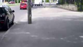 Cum e să pedalezi pe pista lui Chirtoacă de pe str. Asachi