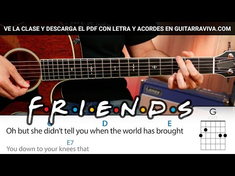 Friends theme song guitar