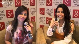 Hangout with JUNELIA AGUIAR at Lakm� Fashion Week Summer/Resort 2014