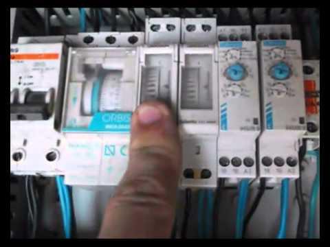 Programador de riego por goteo casero con temporizadores for Programador riego automatico