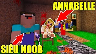NOOB ĐẤU VỚI ANNABELLE!! AI SẼ THẮNG? - Minecraft Halloween Đặc Biệt