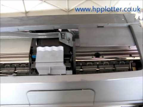 Designjet 100 - 130 Series - correct Start-up sequence on your printer