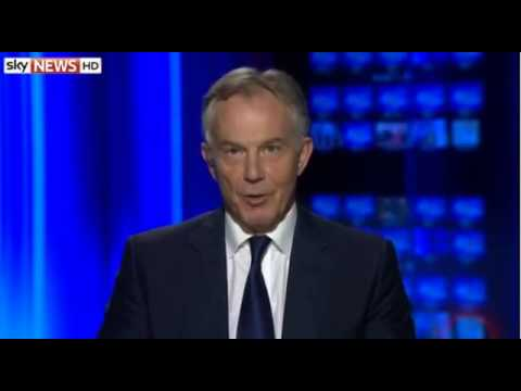 Tony Blair On Crisis In Iraq   Desire To See Syrian Regime Change