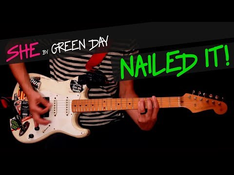 She - Green Day guitar cover by GV +chords