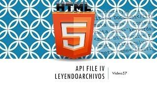 Curso de HTML 5. Parte 57