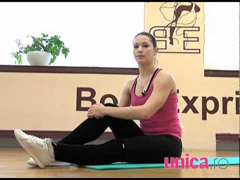 5 exercitii de Pilates pentru acasa