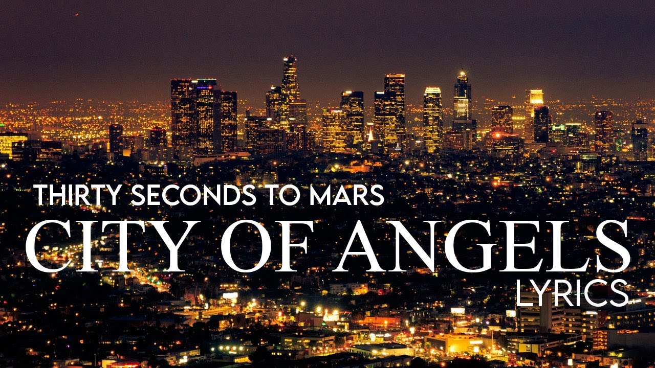 The city of angels lyrics