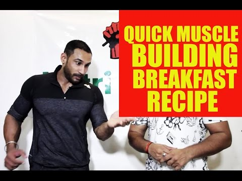 Quick Muscle building breakfast recipe