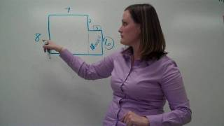 Area Of Complex Figures Addition Method (video #3)